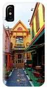 Dinks Alley IPhone Case