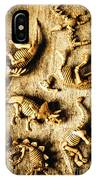 Dinosaurs In A Bone Display IPhone X Case