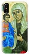 Discalced Carmelite Painting IPhone Case