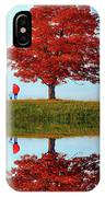 Discovering Autumn - Reflection IPhone Case