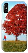 Discovering Autumn IPhone Case
