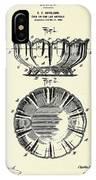 Dish-1900 IPhone Case