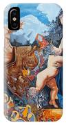 Disintegration Of The Old Ancient World IPhone Case