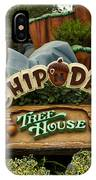 Disneyland Chip And Dale Signage IPhone Case