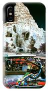 Disneyland Tomorrowland - Pop Color IPhone Case