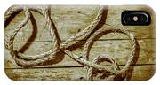 Dispatched Ropes And Voyages IPhone Case