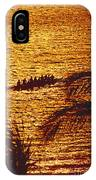 Distant View Of Outrigger IPhone Case