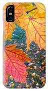 Distinctive Maple Leaves IPhone Case
