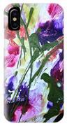 Divine Blooms-21176 IPhone Case