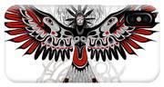 Divine Crow Woman IPhone Case