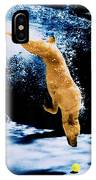 Diving Dog Underwater IPhone Case