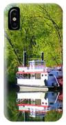 Dixie Belle River Boat IPhone Case