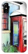 Do-00091 Telephone Booth In Morpeth IPhone Case