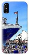 Do-00100 A Ship And Opera House IPhone Case