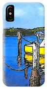 Do-00147 Resting Boats IPhone Case