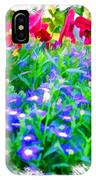 Do-00221 Flowers IPhone Case