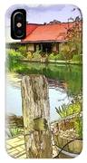 Do-00251 A Farm In Hunter Valley IPhone Case
