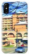 Do-00288 Crowne Plazza From A Hill IPhone Case