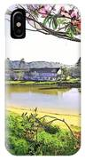 Do-00289 The Clan Lakeside Lake Lodge IPhone Case