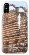 Do-00302 Ruins In Anjar IPhone Case