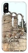 Do-00306 Old Ruins In Anjar IPhone Case