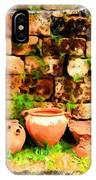 Do-00348 Jars In Byblos IPhone Case