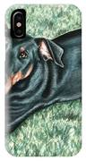 Dobermann IPhone Case