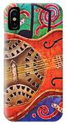 Dobro - Slide Guitar IPhone Case
