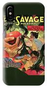 Doc Savage He Could Stop The World IPhone X Case