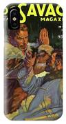 Doc Savage The Mystery On The Snow IPhone Case