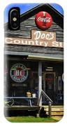 Doc's Country Store IPhone Case