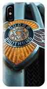 Dodge Brothers Emblem Jerome Az IPhone Case