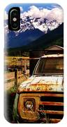 Dodging Mount Currie IPhone Case