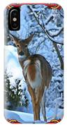 Doe In The Snow IPhone Case