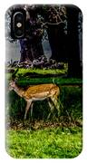 Doe - Oil Painting Print IPhone Case