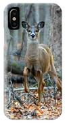Doe On The Move IPhone Case