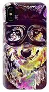 Dog Funny Cheeky Cap Animal Wild  IPhone Case