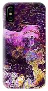 Dog Happy Nature River  IPhone Case