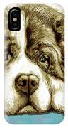 Dog -  New Pop Art Poster IPhone Case