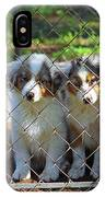 Dogs. Let Us Out #2 IPhone Case
