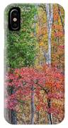 Dogwood And Cedar IPhone Case