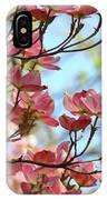 Dogwood Flowering Trees Pink Dogwood Flowers Baslee Troutman IPhone Case
