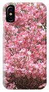 Dogwood Tree Flowers Art Prints Canvas Pink Dogwood IPhone Case