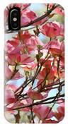 Dogwood Tree Landscape Art Prints Blue Sky Baslee Troutman IPhone Case