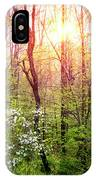 Dogwoods In The Forest IPhone Case