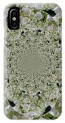 Doily Of Flowers IPhone Case