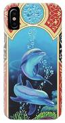 Dolphin Mecca IPhone Case