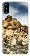 Dome Rock - Joshua Tree National Park IPhone Case
