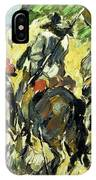 Don Quixote, View From The Back IPhone Case