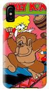 Donkey Kong Arcade Game Art IPhone Case
